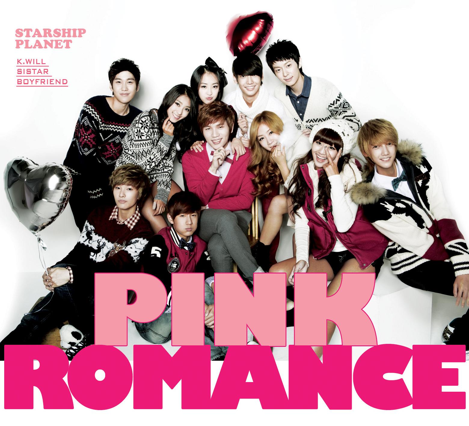 STARSHIP PLANET pink romance