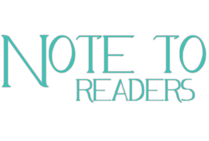 note to readers big