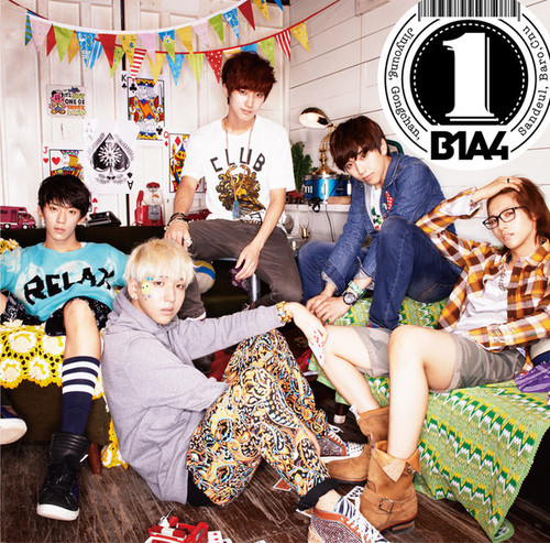 B1A4 - 1st japanese album