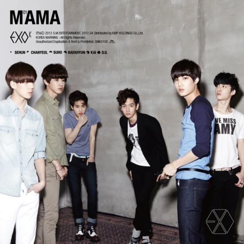 EXO-K MAMA 1st Mini album