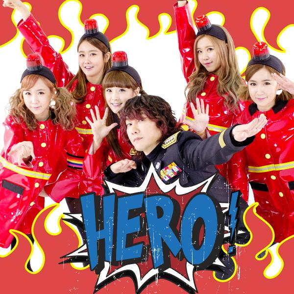Crayon Pop and Kim Jang Hoon - Hero