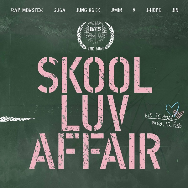 BTS Bangtan Boys SCHOOL LUV AFFAIR