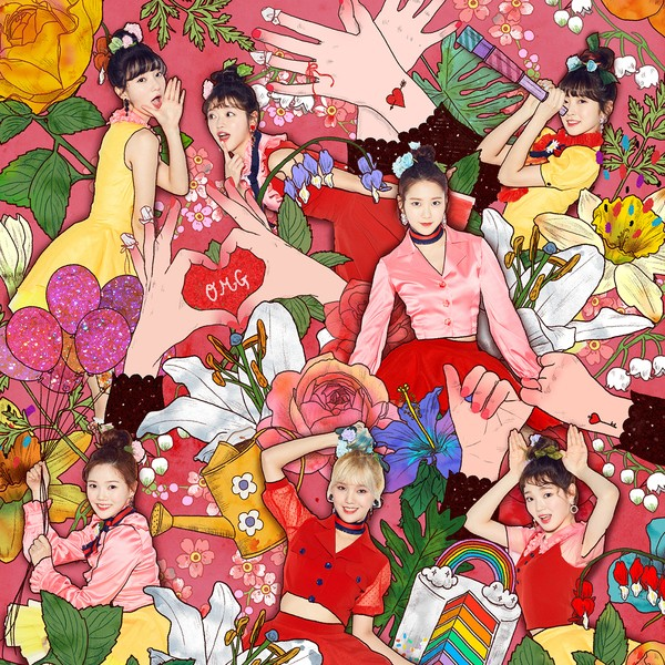 oh my girl coloring book color coded lyrics - Girls Coloring Books