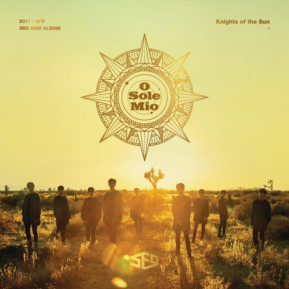 SF9 - O Sole Mio (오솔레미오) - Color Coded Lyrics